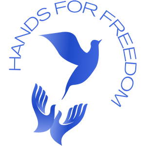 Hands for Freedom Logo